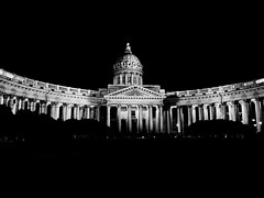 Kazan Cathedral | St. Petersburg (maryduniants) Tags: architecture blackandwhite holy cathedral russia stpetersburg kazan kazancathedral