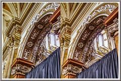 Santa Maria Assunta 3D (Immagini 2&3D) Tags: villalagarina trentino italy 3d stereophotography stereoscopy church baroque barocco