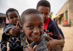 Boys in Hawzien (Rod Waddington) Tags: africa african afrique afrika äthiopien ethiopia ethiopian ethnic etiopia ethnicity ethiopie etiopian hawzen hawzien town street streetphotography portrait boys children outdoor buildings culture cultural tigray