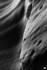 Close-up of a wall in Antelope canyon (Recette Américaine) Tags: ifttt 500px vacances ouest américain usa rough stack rock eroded dawn stromatolite rippled saltwick bay golden cap wave pebble bedruthan steps ouestaméricain