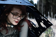 Aria (Squigg_Photography) Tags: model alternative portrait portraiture umbrella glasses lipstick