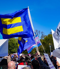2018.10.22 We Won't Be Erased - Rally for Trans Rights, Washington, DC USA 06832