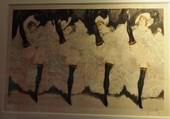 """""""French Cancan"""", Louis Icart (1888-1950), musée Montmartre, rue Cortot, Paris XVIIIe, France. (byb64) Tags: paris parigi париж باريس îledefrance france francia frankreich europe europa eu ue montmartre buttemontmartre muséemontmartre musée museo museum cuadro pianting tableau amisduvieuxmontmartre frenchcancan cancan danse dance baile louisicart lithographie"""