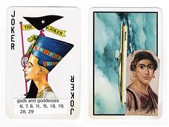 Card for Kerosene (dou_ble_you) Tags: mailart playingcard duchampiansnap kerosene doubleyou