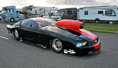 Mustang_3075 (Fast an' Bulbous) Tags: car vehicle automobile drag race strip track motorsport outdoor nikon promodified racecar santapod