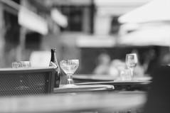 Afternoon Refreshments (lewist584) Tags: sony sonynex5r nex5r nex emount belgium leuven louvain helios85210mmf38 manualfocus manuallens m42 m42mount bar beer glasses orval
