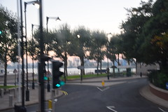 DSC_9360 London Bus Route #135 Early Morning Docklands Canary Wharf (photographer695) Tags: london bus route 135 early morning docklands canary wharf