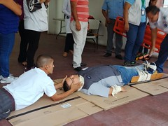 Taller de primeros auxilio en Mejicanos - SS - 04Oct18