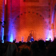 Le Rapt Invisible - Toulouse les Orgues (nahia.peschard) Tags: couvent église church architecture jacobins festival orange toulouse rapt invisible orgues public spectacle néons sarkis