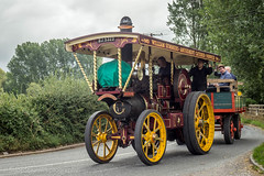 Drusillas to GDSF Road Run (Ben Matthews1992) Tags: 2018 drusillas inn road run great dorset steam fair gdsf britain england classic old vintage historic preserved preservation traction engine garrett showmans 33818 lady olivia bj5323