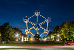 ABM (Another Blue Monday)  /  The Atomium in Brussels, Belgium (Frans.Sellies) Tags: 20140816img6979 belgium brussels