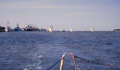 WAGS in Trinity Inlet (Serendigity) Tags: fnq queensland cairns trinityinlet slide kodachrome sailing australia race wags wednesdayafternoongentlemenssailing cairnsyachtclub 35mm film yacht au