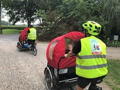 Billund Dagtur August 2018 Cykling uden alder Rickshaws Piloter