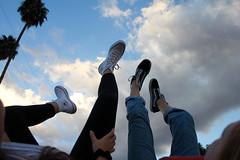 happy feet (zoewoomer) Tags: feet clouds cloud converse vans shoes cali