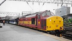 37421 Crewe April 2000 (Waddo's World of Railways) Tags: 37421 421 37 374 eh eth crewe loco locomotive ews crewestation class37 locohauled rail railway train