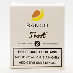Froot Bango (VAPEPRODUCTPHOTOS) Tags: eliquid vape vaping vapour oxford 10ml 3mg box pg vg 500px tpd froot bango frootbango