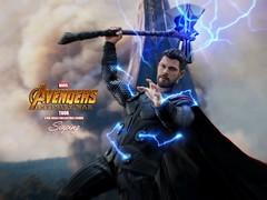 A3Thor_009 (siuping1018) Tags: hottoys marvel disney avengers actionfigures photography onesixthscale siuping infinitywar thor canon 5dmarkii 50mm