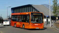 Shrinking Orange (londonbusexplorer) Tags: reading buses adl enviro 200 133 yx63lgw 9 station whitley wood bus