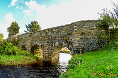 Stone bridge Straboy Glenties (Salmix_ie) Tags: straboy glenties county donegal ireland railway bridge dry arch river nikon nikkor d500 october 2018 sunny blue skies stones