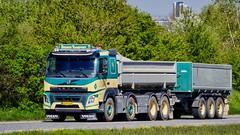 BX97216 (18.05.08, Motorvej 501, Viby J)DSC_7454_Balancer (Lav Ulv) Tags: 247772 volvo fmx fmx500 volvofmx e6 euro6 8x4 2018 brunostransport rigid trailer kærre cream amttrailer brandneu spritny brandnew splinterny truck truckphoto truckspotter traffic trafik verkehr cabover street road strasse vej commercialvehicles erhvervskøretøjer danmark denmark dänemark danishhauliers danskefirmaer danskevognmænd vehicle køretøj aarhus lkw lastbil lastvogn camion vehicule coe danemark danimarca lorry autocarra danoise vrachtwagen motorway autobahn motorvej vibyj highway hiway autostrada