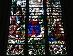 1522 - 'Louis de Roncherolles (+1538) & Françoise d'Halluin (van Halewijn) (+ca. 1522-23), 'Vitrail de Roncherolles'' (Engrand Le Prince), Cathédrale Saint-Pierre, Beauvais, dép. Oise, France (roelipilami (Roel Renmans)) Tags: 1522 de roncherolles louis 1538 francoise dhalluin halewijn van 1523 halluin vitrail glasinloodraam glasmalerei stained glass fenster window raam venster engrand leprince le prince cathédrale kathedraal cathedral beauvais oise france french picardie picardy northern vitral armor armour armure harnas rüstung armadura renaissance surcoat surcotte wapenrok wappenrock waffenrock tabard king roi donors donateurs opdrachtgevers francois francis assisi christ crucifixion hubert christophe jesus cross christopher saint calvaire calvary