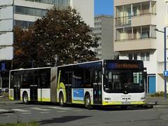 Man Lion's City G n°162 (ChristopherSNCF56) Tags: man bibus lions city articulé 162 brest autobus transport bus