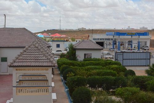Garowe, Puntland, Somalia - Grand Hotel - View from my Room