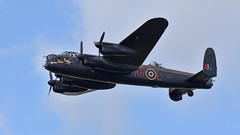 Lancaster Fly-Past (nickym6274) Tags: sywellpistonsprops 2018 sywellaerodrome sywell northamptonshire lancasterbomber lancaster pa474 aeroplane airshow aircraft