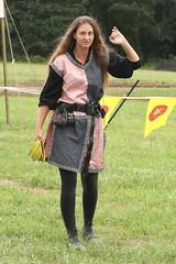 Joust Hostess (Itinerant Wanderer) Tags: pennsylvania buckscounty wrightstown villagerenaissancefaire