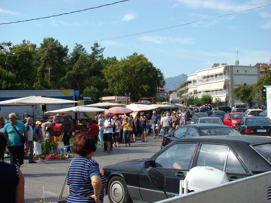 фото: Рынок на площади