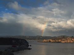 Rainbows over Carmel (Tom Clifton) Tags: pointlobos whalescove carmel rainbow