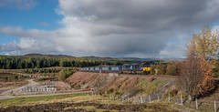 66428 Dalwhinnie (jbg06003) Tags: class66 drs freight intermodal hml highland