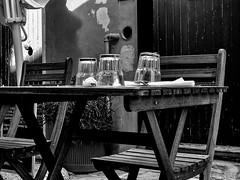 """Today For Lunch..."" (giannipaoloziliani) Tags: hdr dark darkness historicalcenter oldstreet restaurant details lightandshadow liguria genoa genova italia italy boccadasse streetphotography nikonphotography nikoncamera nikon blackandwhite biancoenero flickr"
