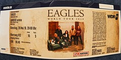 I got one :-) (Andy von der Wurm) Tags: eagles concert ticket konzert eintrittskarte igotone rock pop country music musik andyvonderwurm andreasfucke hobbyphotograph lanxessarena cologne köln mai may 2019 fisheye theeagles band hotelcalifornia song