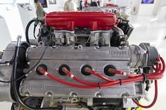 in red (cyberjani) Tags: via emilia italy modena ferrari car museum