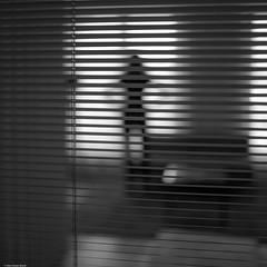 Hotelroom (hdbrand) Tags: leica monochrom summilux hotel berlin silouette quadrat