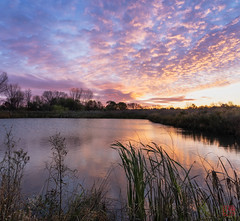 When Morning Comes (Mitymous) Tags: doorcreekpark fall2018 morning reflections sunrise walk wisconsin