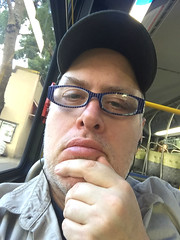 Day 2434: Day 244: On the bus (knoopie) Tags: 2018 iphone picturemail september doug knoop knoopie me selfportrait 365days 365daysyear7 year7 365more day2434 day244