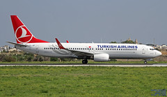 TC-JHF LMML 22-10-2018 (Burmarrad (Mark) Camenzuli Thank you for the 13.8) Tags: airline turkish airlines aircraft boeing 7378f2 registration tcjhf cn 35745 lmml 22102018
