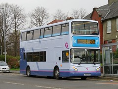 First Glasgow 33360 LK53EXZ looking very smart after a recent repaint (J.G1004) Tags: first glasgow 33360 lk53exz
