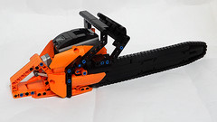 Lego Technic Chainsaw (MOC - 4K) (hajdekr) Tags: lego buildingblocks tuto tutorial tip help tips inspiration design moc myowncreation toy model buildingbricks bricks brick builder buildingtoy chain saw chainsaw batterybox mmotor cutter portablemotorized portable motorized cuttimg tree limbing bucking pruning felling technic powerfunction
