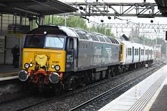 DRS 57301 @ Liverpool S Parkway (Liam Blundell Photography) Tags: drs class 57 57301 liverpool south parkway wolverton centre sdgs allerton depot 5n36 319 319373 ex thamslink diesel diesellocomotive raining rain
