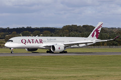 Airbus A350-941 A7-ALI Qatar Airways (Mark McEwan) Tags: airbus a350 a350941 a7ali qatarairways qatar aviation aircraft airplane airliner edi edinburghairport edinburgh