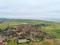 Luftbild von Hollum, Ameland