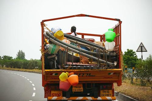 On the move. Tamil Nadu, India, 2018