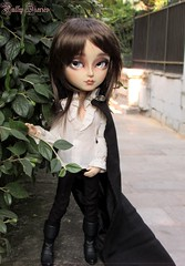 GoodBye Homeland (Little Queen Gaou) Tags: pullip doll groove taeyang vampire full custo art artist artiste maquillage make up roumain romanian prince king roi beautiful dracula story books livre bram stoker gothic gothique inspiration photography photographie castle château ville city