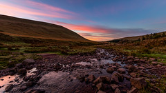 The Walk Starts Here (scamart1st) Tags: stream colour sunrise autumn uk brecon beacons pen y fan wales nikon 16 35 hike walk photo mountain hills rocks water flow