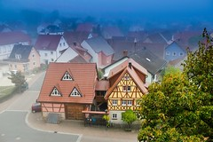 Fachwerk in Königshofen (Baden)