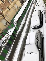 voiture-gentilly-neige© (alexandrarougeron) Tags: photo alexandra rougeron neige urbain paysage nature paris