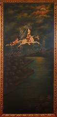 Departure of Prince Siddhartha (Wolfgang Bazer) Tags: siddhartha gautama buddha siddhārtha siddhattha channa kanthaka departure palace wat chana songkhram chanasongkhram ratchaworamahawiharn วัดชนะสงครามราชวรมหาวิหาร phra nakhon bangkok thailand bang lamphu khaosan road rambuttri